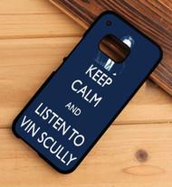 Hear Is Vin scully HTC One X M7 M8 M9 Case