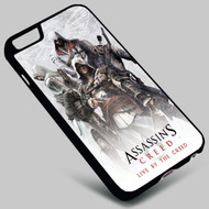 Assassin's Creed1 on your case iphone 4 4s 5 5s 5c 6 6plus 7 Samsung Galaxy s3 s4 s5 s6 s7 HTC Case