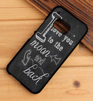 I LOVE YOU to the MOON and BACK HTC One X M7 M8 M9 Case