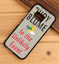 In the Unlikely Event Judy Blume HTC One X M7 M8 M9 Case