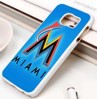 Miami Marlins Samsung Galaxy S3 S4 S5 S6 S7 case / cases