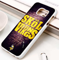 Minnesota Vikings 2 Samsung Galaxy S3 S4 S5 S6 S7 case / cases