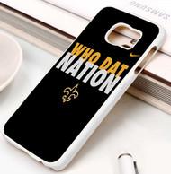 New Orleans Saints 2 Samsung Galaxy S3 S4 S5 S6 S7 case / cases