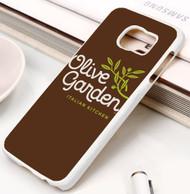 olive garden Samsung Galaxy S3 S4 S5 S6 S7 case / cases