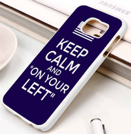 On Your Left captain Samsung Galaxy S3 S4 S5 S6 S7 case / cases