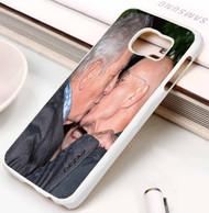 Patrick Stewart, Ian McKellen Kiss x meN marve Samsung Galaxy S3 S4 S5 S6 S7 case / cases