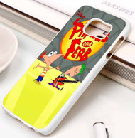 Phineas and Ferb Samsung Galaxy S3 S4 S5 S6 S7 case / cases