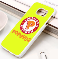 Popeyes Louisiana Kitchen Samsung Galaxy S3 S4 S5 S6 S7 case / cases