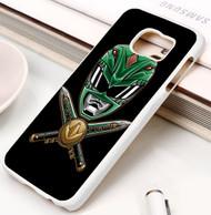 Power Rangers  green Samsung Galaxy S3 S4 S5 S6 S7 case / cases