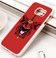 Power Rangers red Samsung Galaxy S3 S4 S5 S6 S7 case / cases