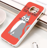 Purrfectly Honest Samsung Galaxy S3 S4 S5 S6 S7 case / cases