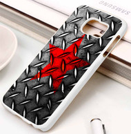 red star on steel Samsung Galaxy S3 S4 S5 S6 S7 case / cases