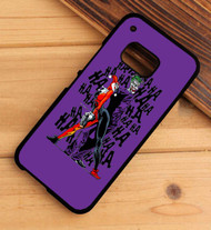 Joker and Harley Quinn Dance HTC One X M7 M8 M9 Case