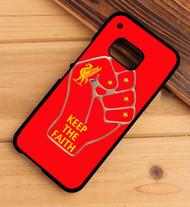 liverpool keep the faith HTC One X M7 M8 M9 Case