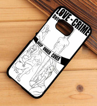 love crime HTC One X M7 M8 M9 Case