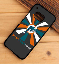 Miami Dolphins 2 HTC One X M7 M8 M9 Case