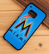 Miami Marlins HTC One X M7 M8 M9 Case