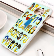 Simpsons Alphabet Samsung Galaxy S3 S4 S5 S6 S7 case / cases