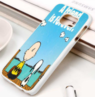 Snoopy love friends Samsung Galaxy S3 S4 S5 S6 S7 case / cases