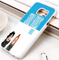 snow know romance Samsung Galaxy S3 S4 S5 S6 S7 case / cases