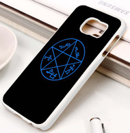 Supernatural Devil's Trap Symbol Samsung Galaxy S3 S4 S5 S6 S7 case / cases
