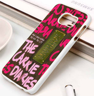 the carrie diaries book candace bushnell Samsung Galaxy S3 S4 S5 S6 S7 case / cases