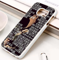 Ultraviolence Lyrics lana del rey Samsung Galaxy S3 S4 S5 S6 S7 case / cases