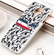 Vineyard Vines American Flag camo shark Samsung Galaxy S3 S4 S5 S6 S7 case / cases