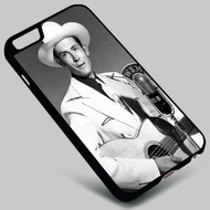 Hank Williams on your case iphone 4 4s 5 5s 5c 6 6plus 7 Samsung Galaxy s3 s4 s5 s6 s7 HTC Case