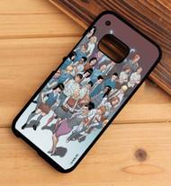 morning glories image comic HTC One X M7 M8 M9 Case
