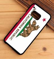 New California Republic HTC One X M7 M8 M9 Case