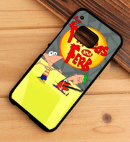 Phineas and Ferb HTC One X M7 M8 M9 Case