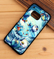 pokemon water starters HTC One X M7 M8 M9 Case