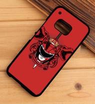 Power Rangers red HTC One X M7 M8 M9 Case
