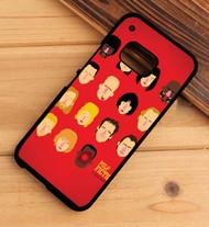 Pulp Fiction HTC One X M7 M8 M9 Case
