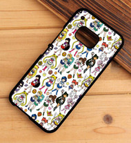 sailor moon pattern HTC One X M7 M8 M9 Case