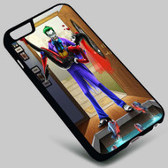 Joker and Harley Quinn Batman on your case iphone 4 4s 5 5s 5c 6 6plus 7 Samsung Galaxy s3 s4 s5 s6 s7 HTC Case
