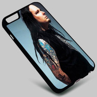 Jonathan Davis Korn Band on your case iphone 4 4s 5 5s 5c 6 6plus 7 Samsung Galaxy s3 s4 s5 s6 s7 HTC Case