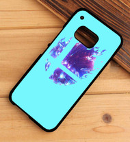 Super Smash Bros Logo Blue HTC One X M7 M8 M9 Case