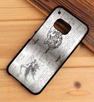 supernatural journal HTC One X M7 M8 M9 Case