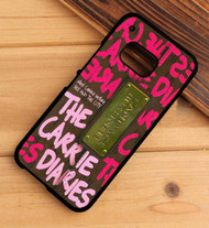 the carrie diaries book candace bushnell HTC One X M7 M8 M9 Case
