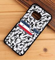 Vineyard Vines American Flag camo shark HTC One X M7 M8 M9 Case