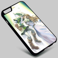 Link and Zelda-The Legend of Zelda on your case iphone 4 4s 5 5s 5c 6 6plus 7 Samsung Galaxy s3 s4 s5 s6 s7 HTC Case
