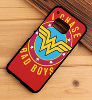 Wonder Woman I Chase Bad Boys HTC One X M7 M8 M9 Case