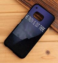 x files the truth is out there HTC One X M7 M8 M9 Case