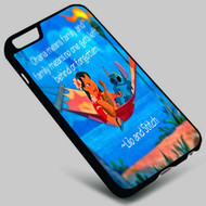 Disney Ohana Means Family on your case iphone 4 4s 5 5s 5c 6 6plus 7 Samsung Galaxy s3 s4 s5 s6 s7 HTC Case