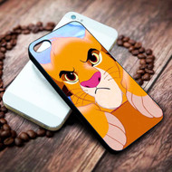 Simba from The Lion King Custom Iphone 4 4s 5 5s 5c 6 6plus 7 case / cases