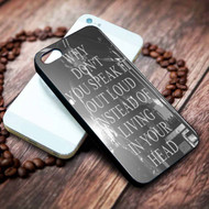 The 1975 Lyrics Custom on your case iphone 4 4s 5 5s 5c 6 6plus 7 case / cases