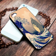 Totoro The Great Wave off Kanagawa Custom on your case iphone 4 4s 5 5s 5c 6 6plus 7 case / cases