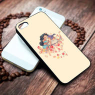 Jasmine and Aladdin Custom on your case iphone 4 4s 5 5s 5c 6 6plus 7 case / cases